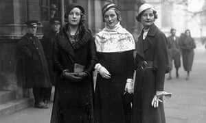 Three of the Mitford sisters