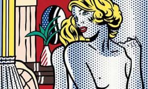 una grande varietà di modelli marchi riconosciuti autorizzazione Roy Lichtenstein: from heresy to visionary | Art and design ...