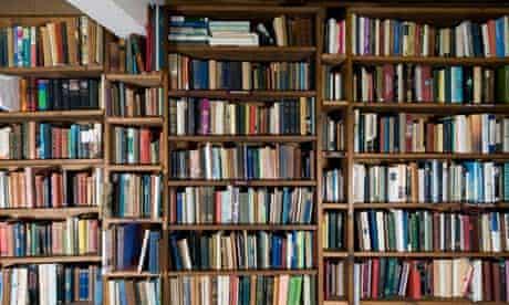 Shelf life … an independent bookshop.