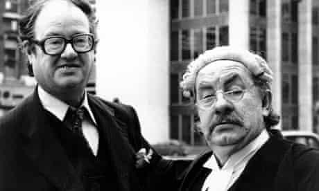 Leo Mckern and John Mortimer