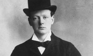 Young Winston Churchill