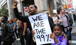Occupy Wall Street Protests, New York in 2011