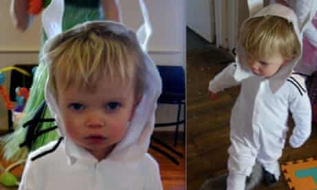 Make Max's wolf suit from Where The Wild Things Are