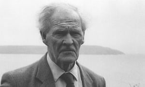 The late Welsh poet RS Thomas