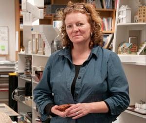 Rachel Whiteread in her studio