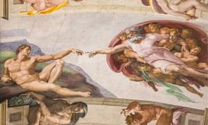 Sistine Chapel Creation ceiling