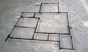 Cornelia Parker's Pavement Cracks (City of London).