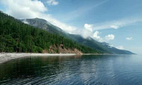 Shoreline of Lake Baikal