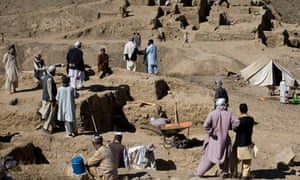 The archaeological dig at Mes Aynak
