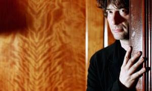 The author Neil Gaiman