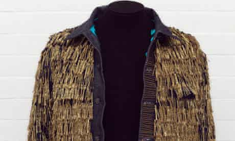 Denim jacket customised by Leigh Bowery