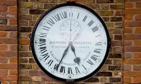 Shepherd 24-hour clock at the Royal Observatory, Greenwich