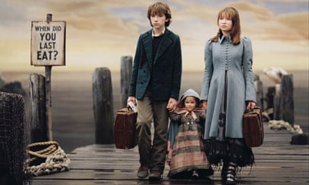 Baudelaire family in Lemony Snicket's A Series of Unfortunate Events