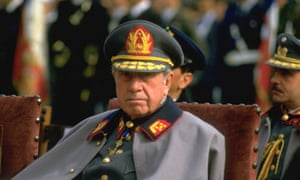 General Augusto Pinochet on 11 September 1985 – the 12th anniversary of the Chilean military's coup