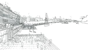 London As It Could Be drawing