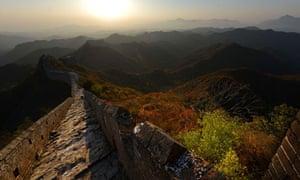 The Great Wall of China at Jinshanling, Hebei Province