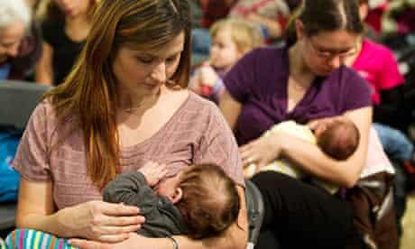 women breastfeeding