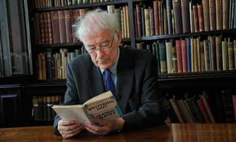 'Privately, he was almost shy, always thoughtful' … Seamus Heaney in 2010.