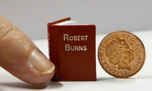 Miniature books go on display at National Library of