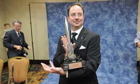 John Scalzi wins the 2013 Hugo award for best novel with Redshirts.