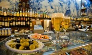 Tapas bar in Salamanca, Spain