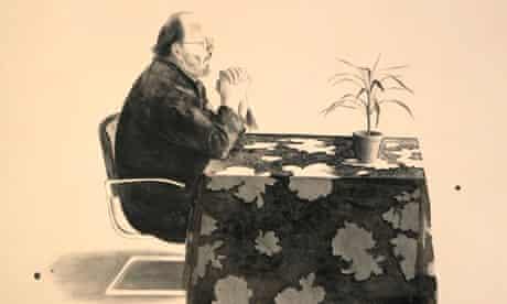David Hockney: Henry At Table, 1976