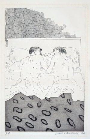 David Hockney: Two Boys Aged 23 or 24, 1966