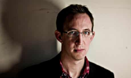Nathan Filer, winner of the Costa Book of the Year award