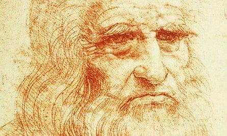 Self-Portrait by Leonardo da Vinci