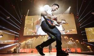 Maroon 5 in concert at the LG Arena, Birmingham, Britain - 08 Jan 2014