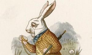 White rabbit by John Tenniel