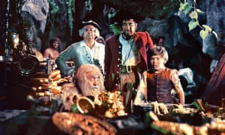 The 1950 film version of <em>Treasure Island</em>.
