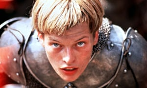 The 1999 film <em>The Messenger: The Story of Joan of Arc</em>, starring Milla Jovovich.