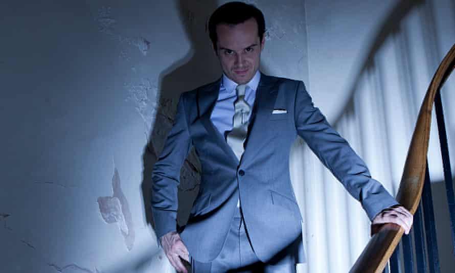 Criminal mastermind… Andrew Scott as Moriarty in BBC1 series<em>Sherlock</em>.