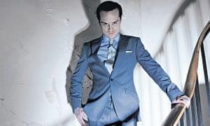 Andrew Scott as Moriarty in BBC1's Sherlock