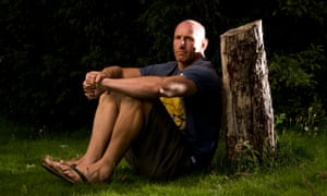 The former Wales rugby player Gareth Thomas.