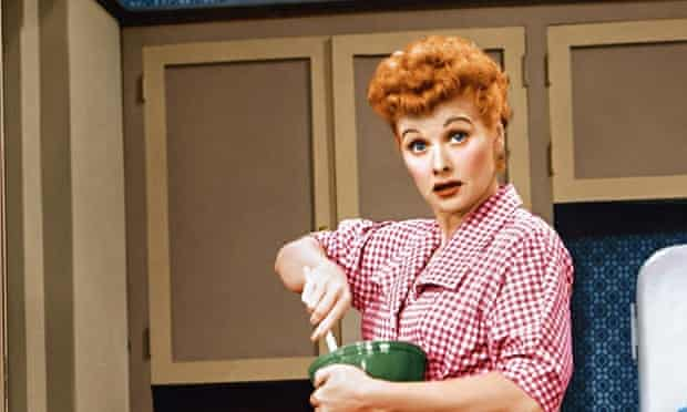 Lucille Ball in I Love Lucy