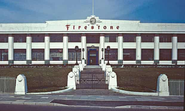A bravura work of the 1920s … Firestone Factory 1980.