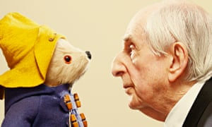 Michael Bond and Paddington Bear