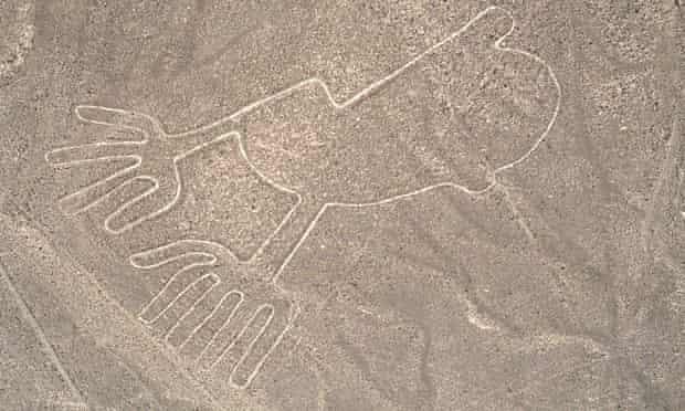 Outline of Hands, Nazca Lines