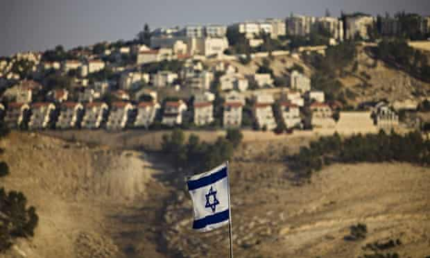 The West Bank Jewish settlement of Ma'ale Adumim on the outskirts of Jerusalem.