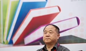 Mo Yan at China's national book fair in 2013.
