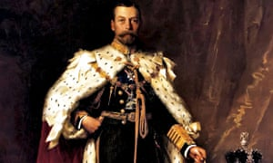 George V 1865ng George V in his coronation robes, Sir Luke Fildes, 1911