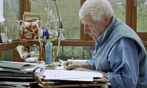 'Writing is an off-shoot of some­thing deeper' … John Berger at home in Paris in 2005.