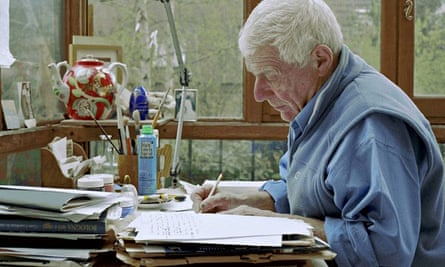 'Writing is an off-shoot of something deeper' … John Berger at home in Paris in 2005.