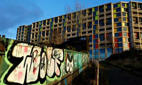Park Hill flats in Sheffield
