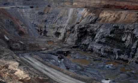 A copper mine in the southern Democratic Republic of Congo