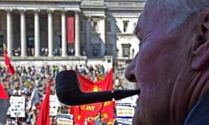 Tony Benn on the May Day rally