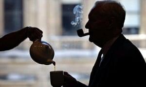 Tony Benn tea