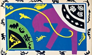 henri matisse drawing with scissors art and design the guardian